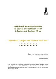 Agricultural marketing companies as sources of smallhoder ... - IFAD