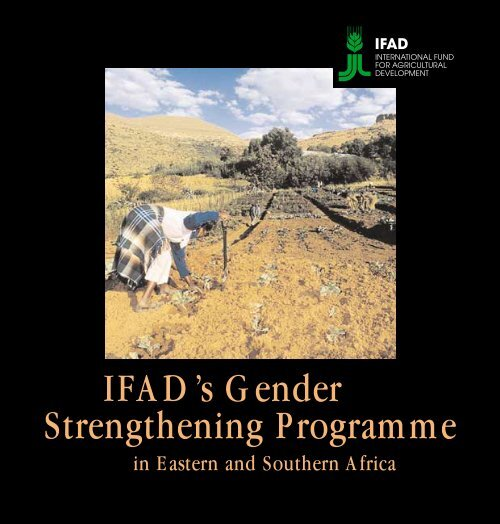 IFAD's Gender Strengthening Programme for East and Southern Africa