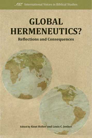 Global Hermeneutics? - International Voices in Biblical Studies ...