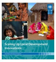 Scaling Up Local Development Innovations - IFAD