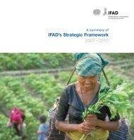 IFAD's Strategic Framework 2007– 2010