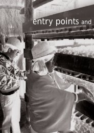 III. Entry Points and Instruments for Gender Mainstreaming - IFAD