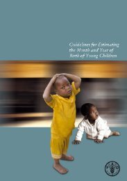 Guidelines for estimating the month and year of birth of young ... - IFAD