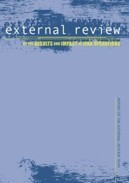 external review - IFAD