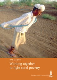 Working together to fight rural poverty - IFAD
