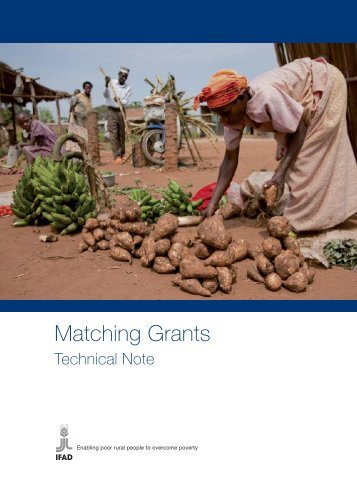 Matching Grants - IFAD