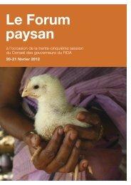 (programme MTCP) et en Amérique du Sud - IFAD