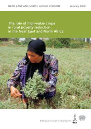High-value crops in rural poverty reduction - IFAD