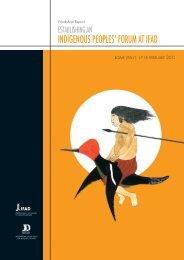 Workshop report - IFAD