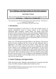 New Challenges and Opportunities for Rural Development 1 ... - IFAD