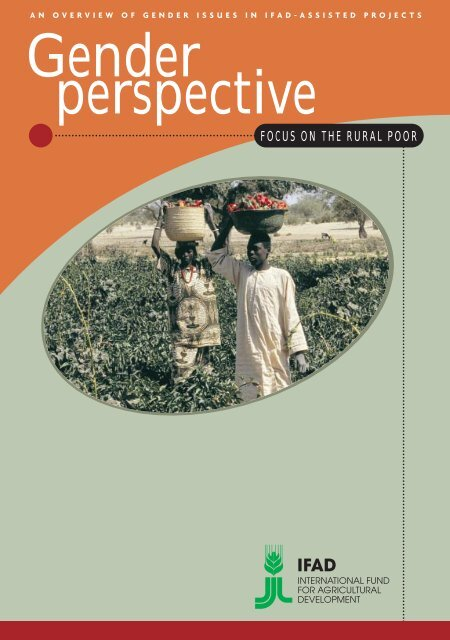 Why a Gender Perspective - IFAD
