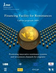 Financing Facility for Remittances - IFAD