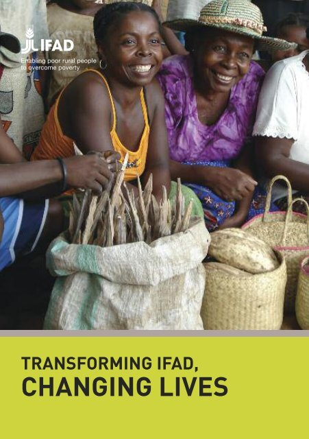 Transforming IFAD, changing lives