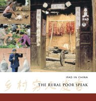 IFAD in China - The Rural Poor Speak