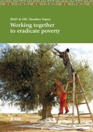 Working together to eradicate poverty - IFAD
