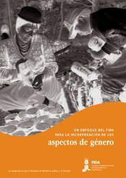aspectos de género - IFAD