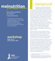 About the workshop - IFAD