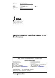 Para aprobación Establecimiento del Comité de Examen de ... - IFAD