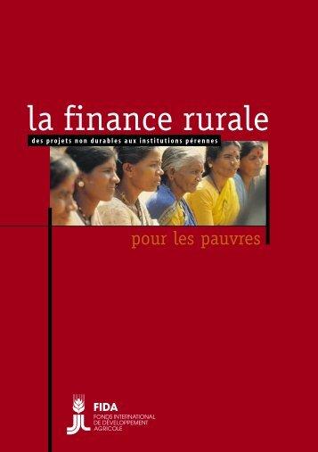 la finance rurale - IFAD