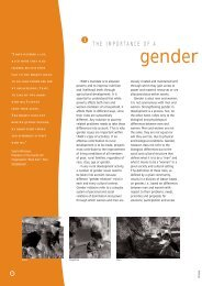 I. The Importance of a Gender Perspective - IFAD