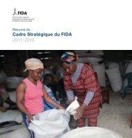 Cadre Stratégique du FIDA 2011-2015 - IFAD