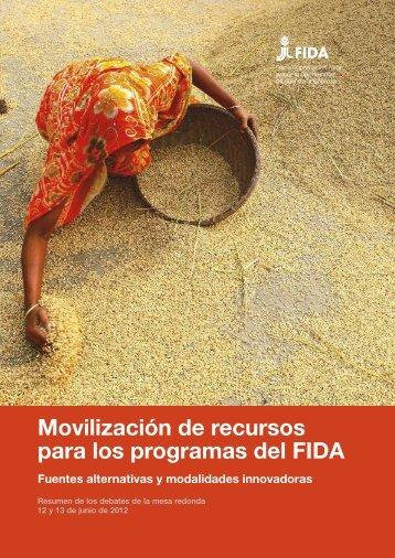 Movilización de recursos para los programas del FIDA - IFAD