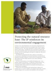 Environment - IFAD