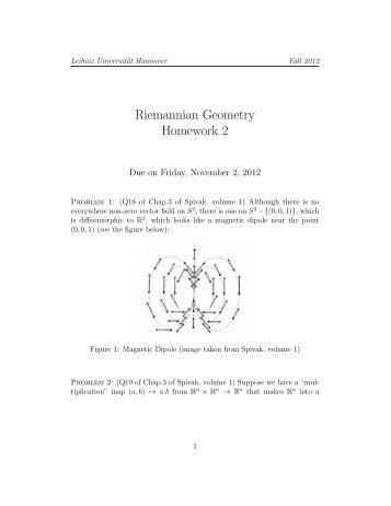 Homework 2 - IfAM - Leibniz Universität Hannover
