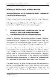 Aerobe in situ Stabilisierung der Altdeponie ... - IFAS-Hamburg