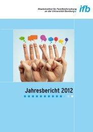 Jahresbericht 2012 - ifb - Bayern