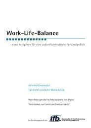 Work-Life-Balance - ifb - Bayern