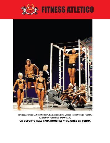 Athletic Fitness rules now available in Spanish - IFBB