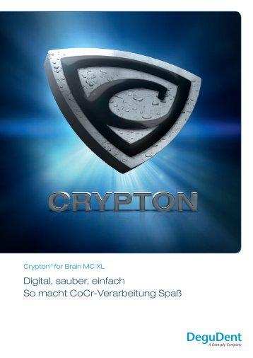 Digital, sauber, einfach So macht CoCr ... - DeguDent GmbH