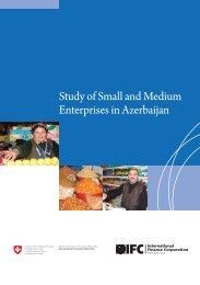 Study of Small and Medium Enterprises in Azerbaijan - IFC