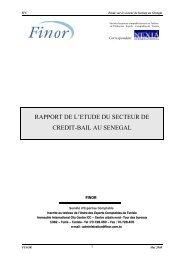 MEMORADUM DE SYNTHESE - IFC