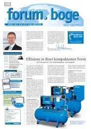Effizienz in ihrer kompaktesten Form - Boge Kompressoren