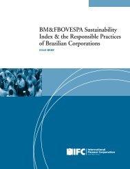 BM&FBOVESPA Sustainability Index & the Responsible ... - IFC