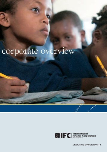 corporate overview - IFC