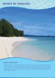 Kakula Island Resort - IFC