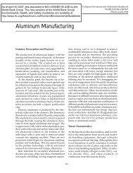 Aluminum Manufacturing - IFC