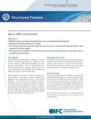 Banco BBA-Creditanstalt - IFC