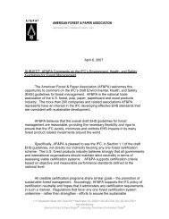 IFC-EHS-Forest Management-AFPA Letter_Apr6 2007_.pdf