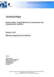 Technical Paper Session Name: Energy ... - Boge Kompressoren