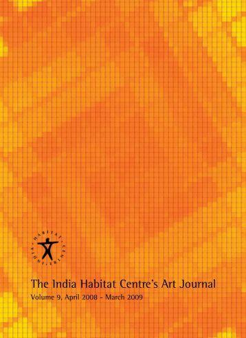 The India Habitat Centre's Art Journal - Institut für Gegenwartskunst