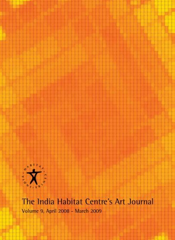 The India Habitat Centre's Art Journal - Institut für Gegenwartskunst
