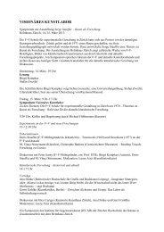 Tagung «Serge Stauffer – Kunst als Forschung» - Institut für ...