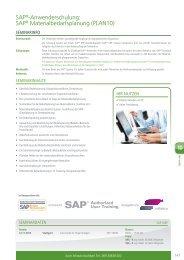 SAP®-Anwenderschulung: SAP® Materialbedarfsplanung ... - BME