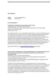 Meret Wandeler E-Mail: meret.wandeler@zhdk.ch Telefon: 079 625 ...