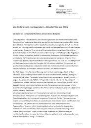 Begleittext - Institut für Gegenwartskunst
