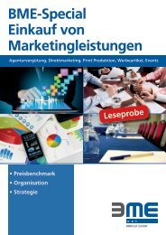Einkauf von Marketingleistungen Leseprobe - BME
